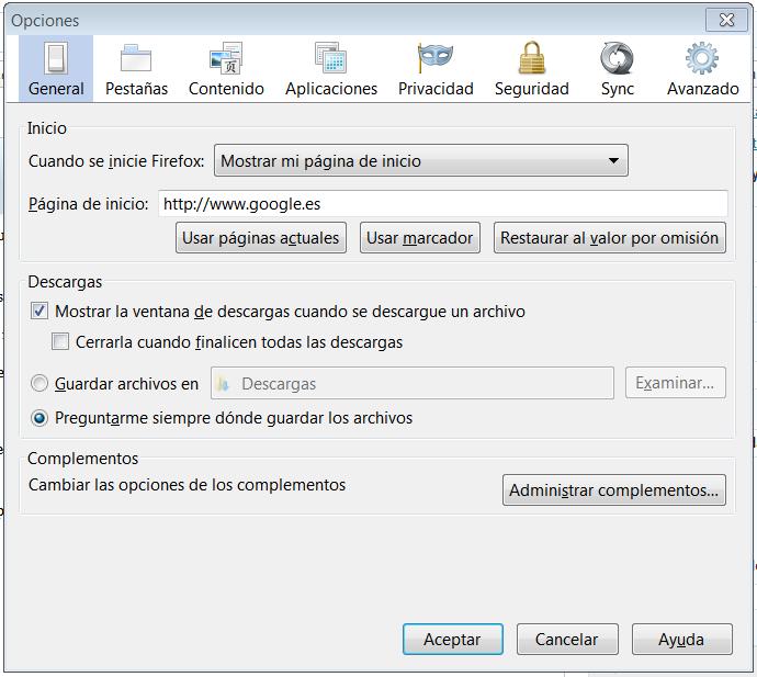 configurar-página-de-inicio-en-firefox