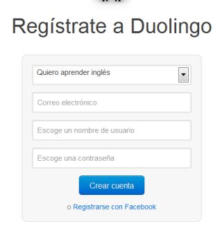 registro duolingo